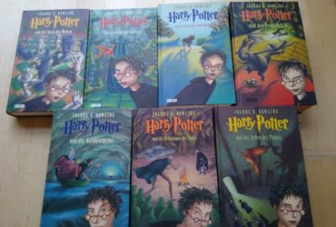 Komplette Harry Potter Buecherreihe 1-7